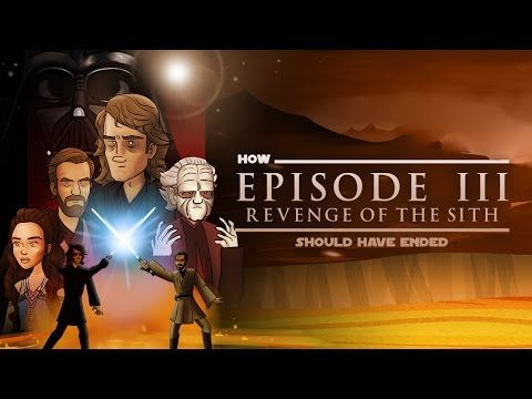 How Star Wars Revenge Of The Sith Should Have Ended Hishe Star Wars Sith Star Wars