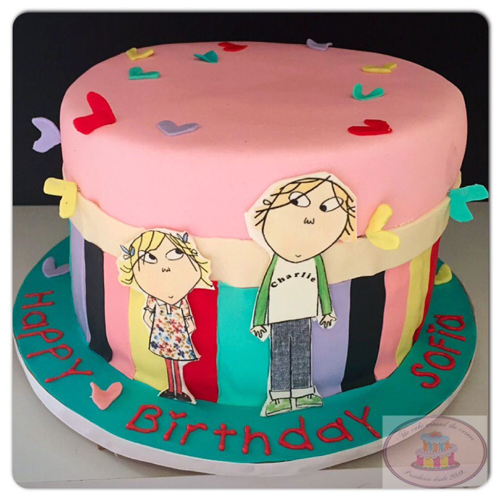 how to make a charlie and lola birthday cake