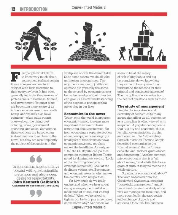 The Economics Book Dk Publishing 9780756698270 Books Economics Books Economics Books