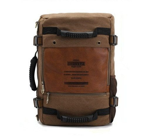 Retro Herren Rucksack Umhängetasche Computer Tasche von bag4dream, $51.00