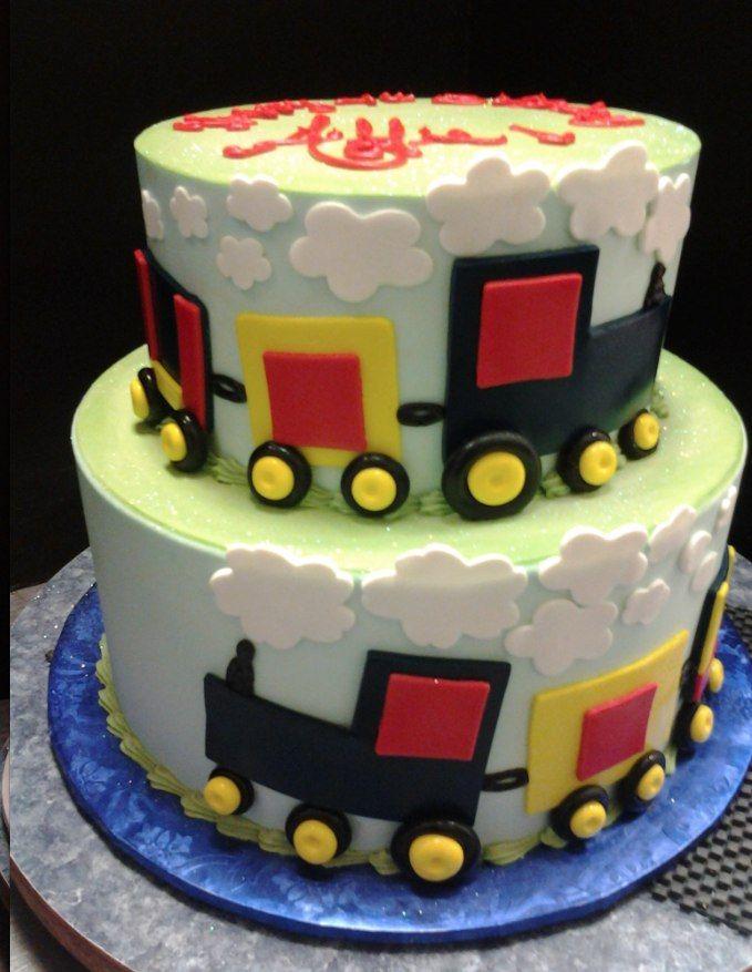 Miraculous Birthday Cake For A Train Lover Choochoo Gabriels Bakery In Personalised Birthday Cards Arneslily Jamesorg