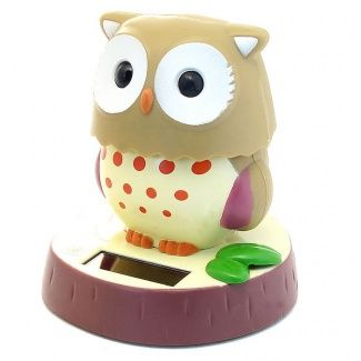 Solar Bobble Head Toy Figure Cute Owl Shop Online For Toys In South Africa Fishpond Co Za Bobble Head Cute Owl Bobble