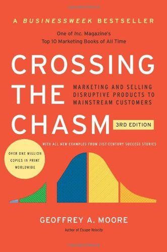 Crossing The Chasm 3rd Edition Marketing And Selling Disruptive Products To Mainstream Customers By Geoffrey A Moore Htt Business Books Book Marketing Books