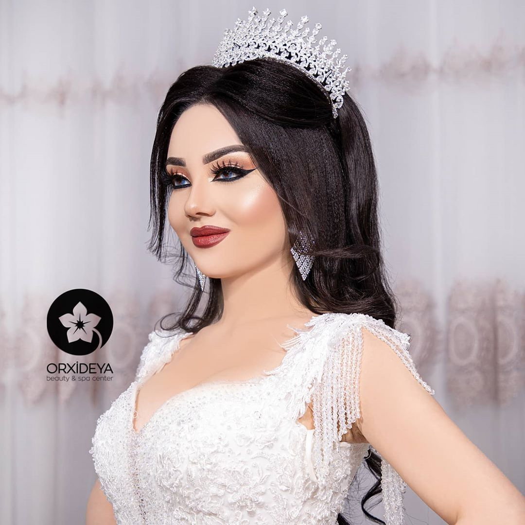 597 Likes 6 Comments Wedding Hairstyle And Makeup Orxideya Gozellikmerkezi On Instagram Qadin Gozell Gelin Sac Modelleri Dugun Sac Modelleri Gelin Saci