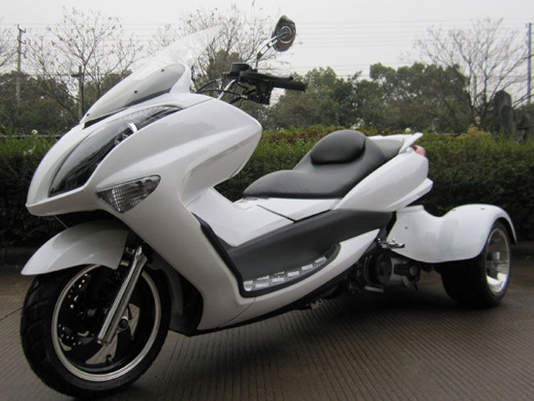 three wheels motorcycles, 300cc Trike Motorcycle Water