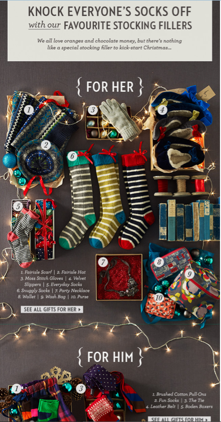 Christmas Gift Guide Catalogue.Boden Gift Suggestions Design Christmas Ad Christmas