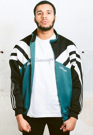 Vintage ADIDAS Track Jacket, available at ASOS.MP