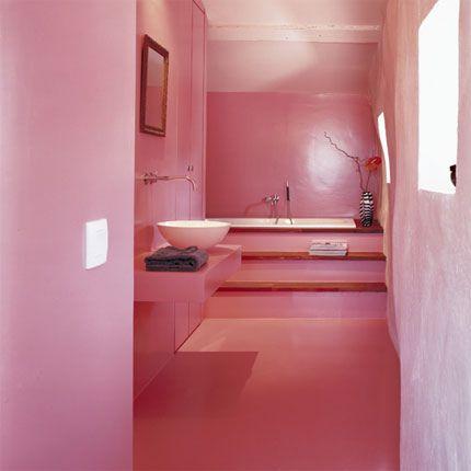 Pintar paredes de rosa, una opción original • | mariana | Pinterest
