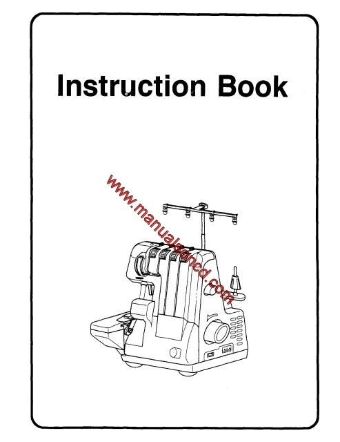 Euro Pro 14533-534DX Sewing Machine Instruction Manual