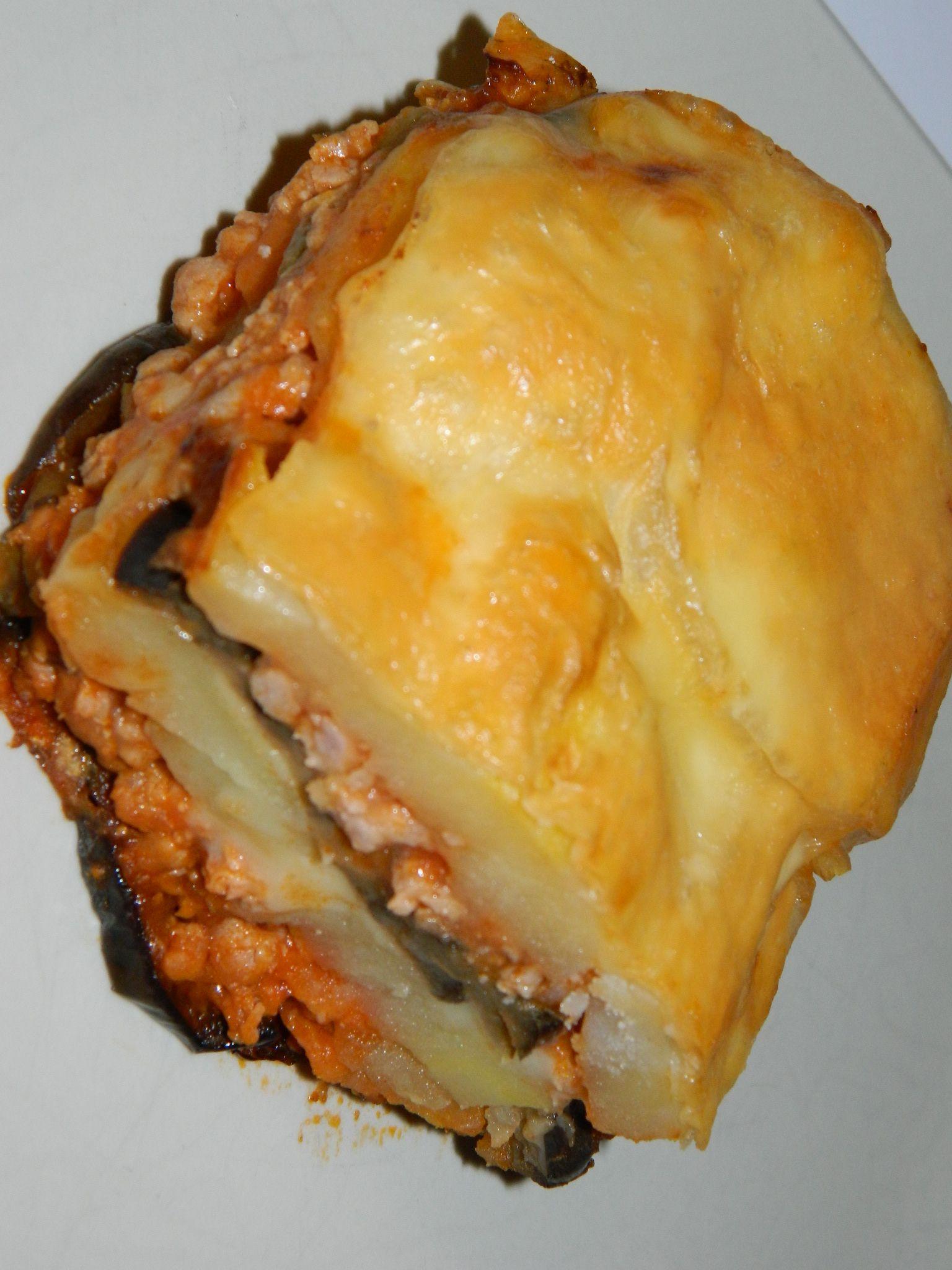 Pastel De Berenjena Patata Y Carne Recetas Abc Pastel De Berenjenas Recetas Con Patatas Lasagna De Berenjena
