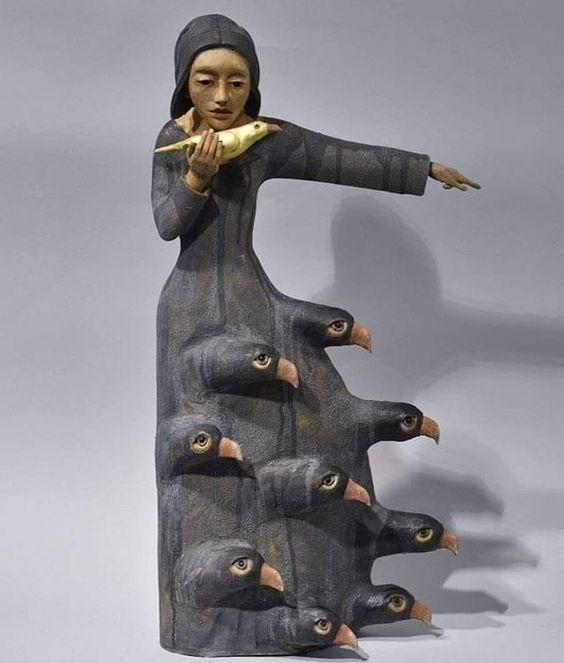 Thewoodbetween: Kathleen Sukiennik - ravens and blackbirds. - #blackbirds. #Kathleen #ravens #Sukiennik #thewoodbetween: