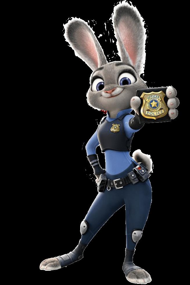 judy hopps. officer hopps reporti.g for duty nicholas wilde youre under aresst