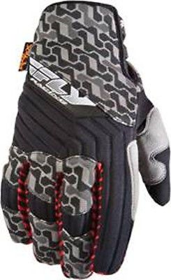 #apparel Fly Switch Snow Cold Weather Gloves Size 8 Adult Small Black/Gray MX/BMX please retweet