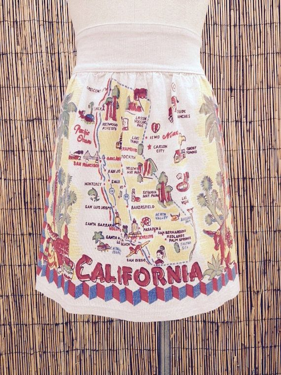 Hey, I found this really awesome Etsy listing at https://www.etsy.com/listing/220992161/vintage-california-apron-half-apron1960s