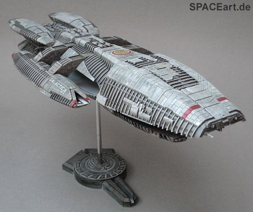 Battlestar Galactica: Galactica - New Version » SPACEart ...