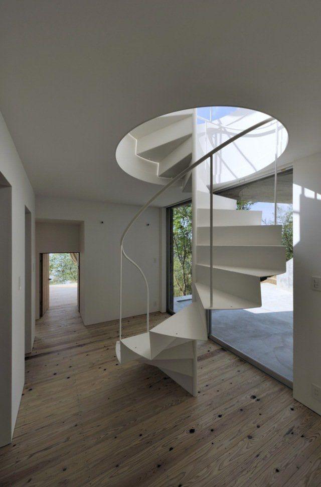 escalier en colimacon moderne