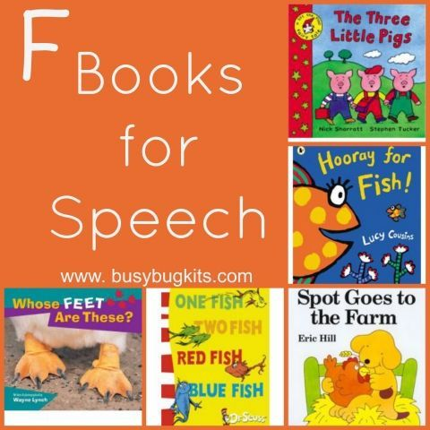 A fantastic list of books for the 'f' sound.