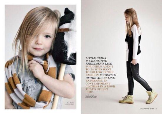 Little Remix, moda infantil informal y moderna, ropa para niñas y chicas jovencitas otoño-invierno de Little Remix | Minimoda.es