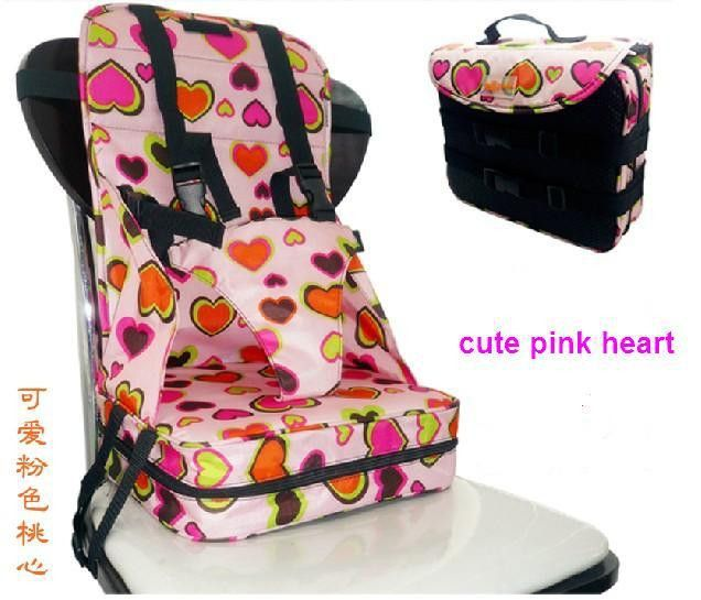 Free Shipping Baby Safety High Chair Seat Infant Portable Fold Up Booster Child Car Cushion Travel