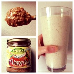 almond butter smoothie - isAgenix protein shake