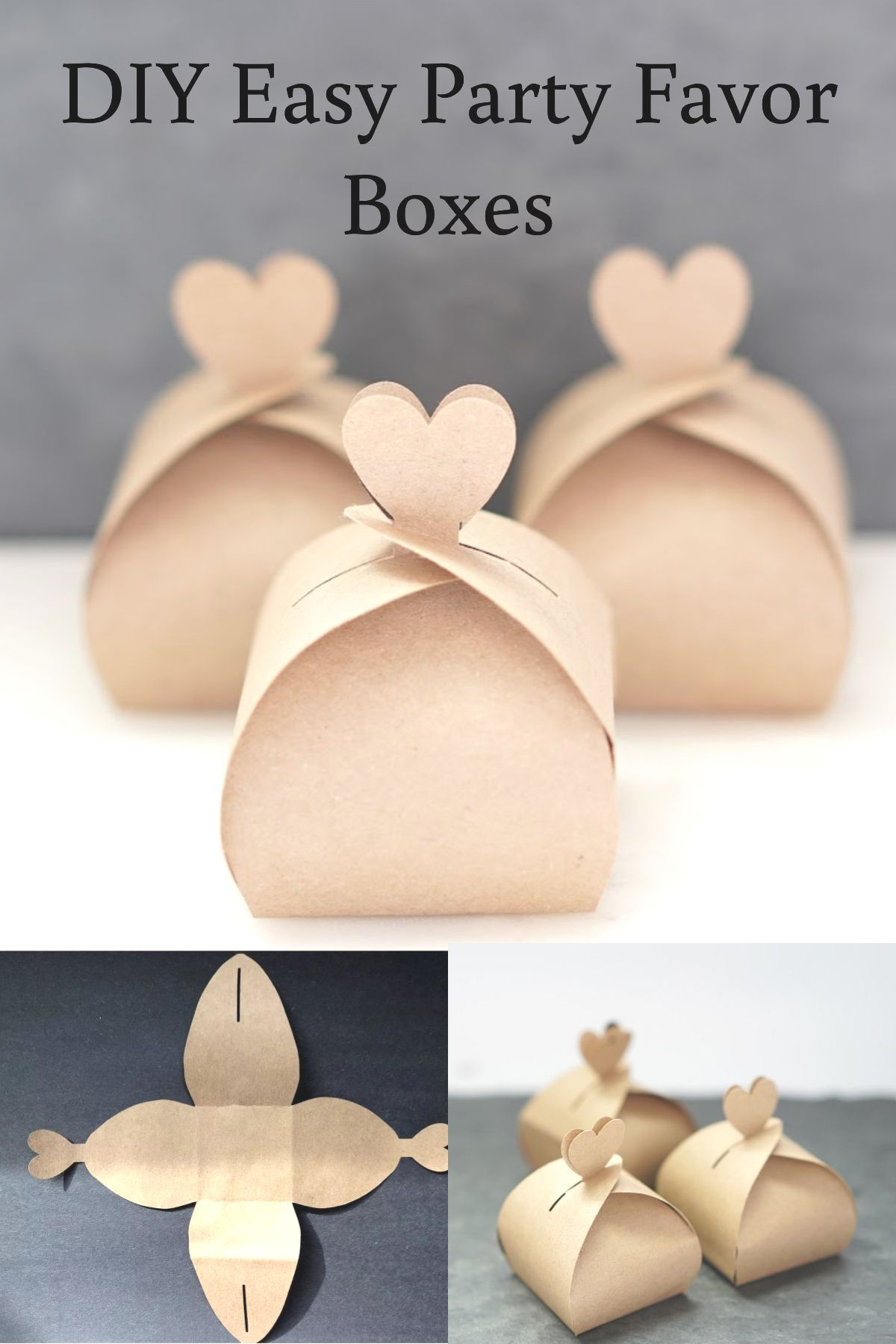 wedding party favour box templates download free