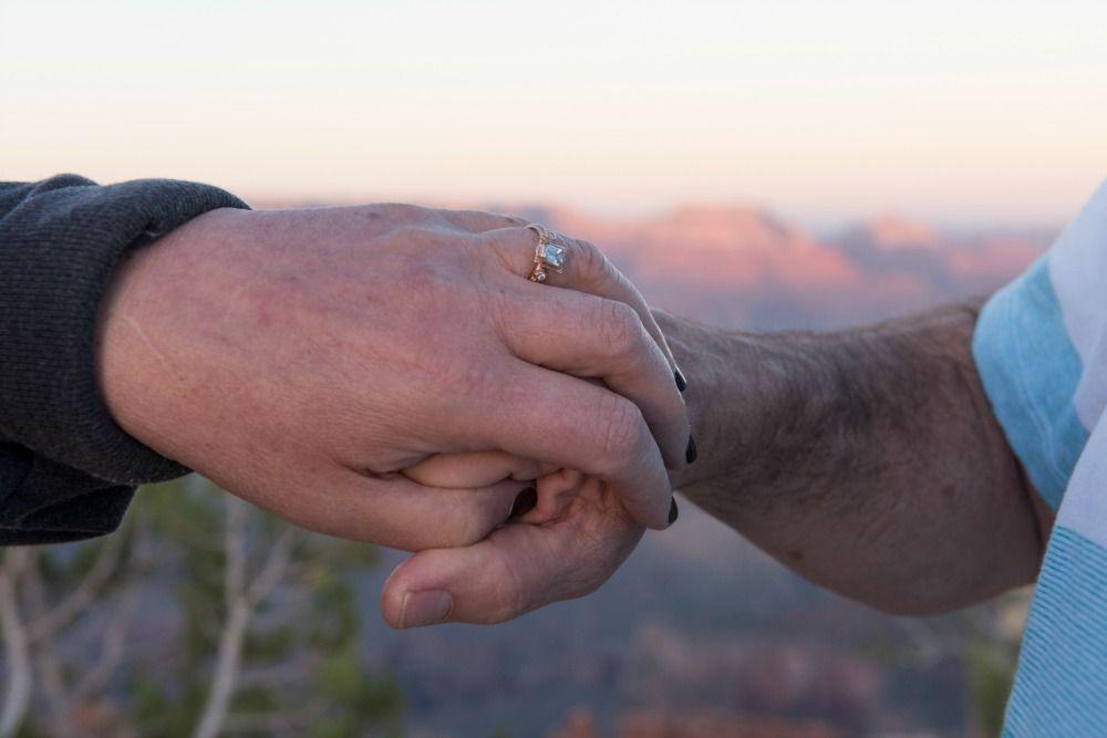 Real Proposal Storycorey Amys Grand Canyon Proposal Megan