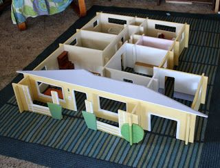 Make A Modular Replica Of Your Own House To Use As A Doll House.  Hausgemachtes ...