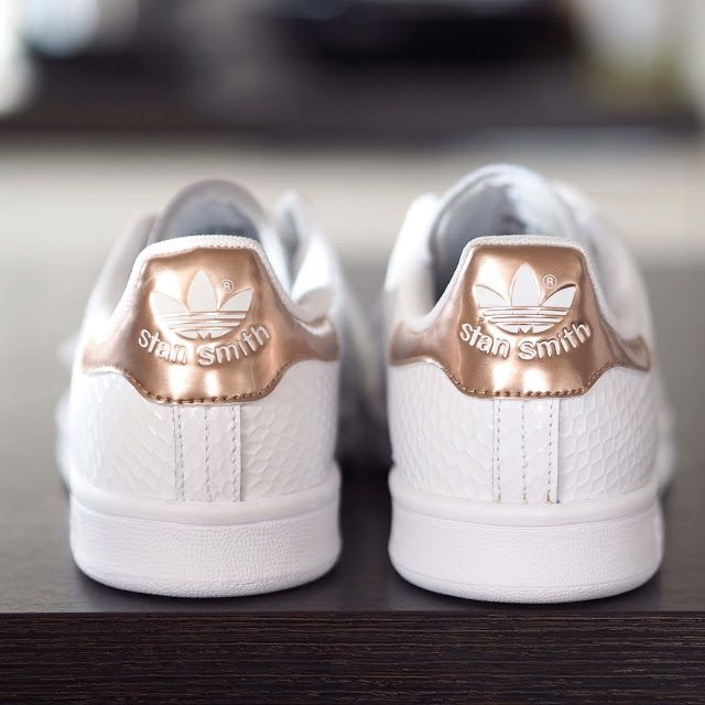 adidas stan smith copper kettle metallic rose gold