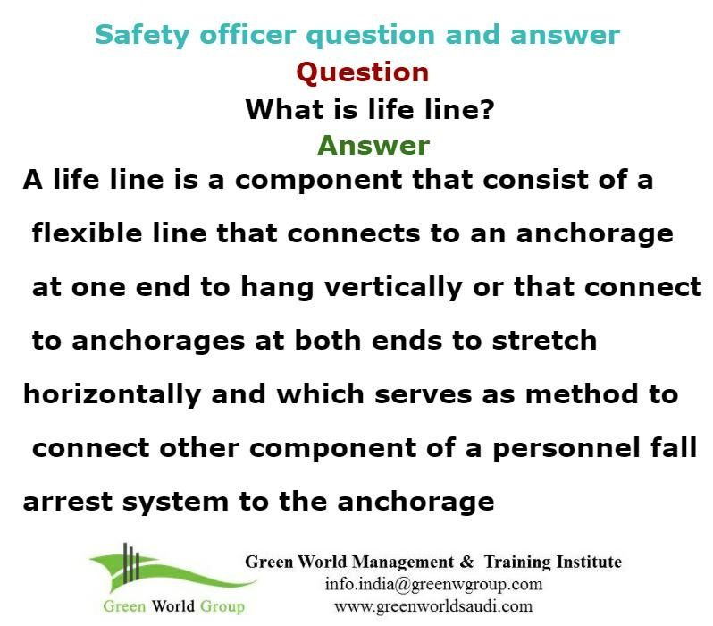 Safety officer question and answer wwwgreenworldsaudi - hse officer sample resume