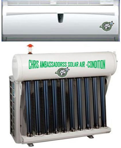 12000 Btu 1 Ton Split Hybrid Solar Air Conditioner. *48V