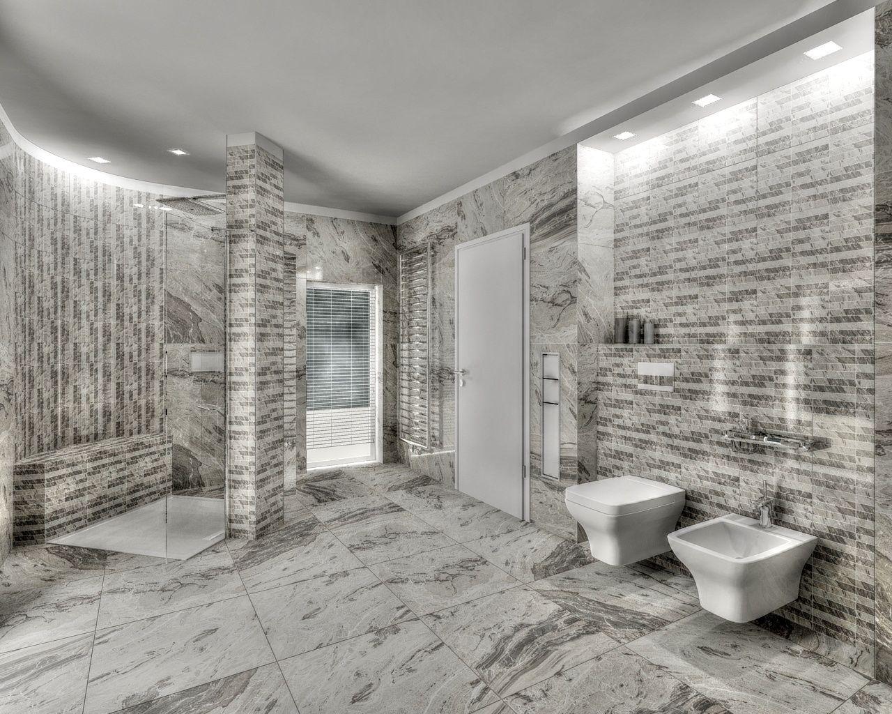 Charmant Grey Marble Bathroom   Google Search