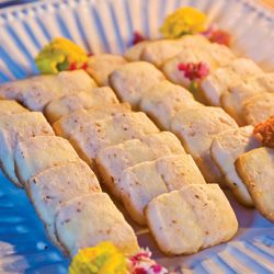 Citrus-Almond Stripe Cookies