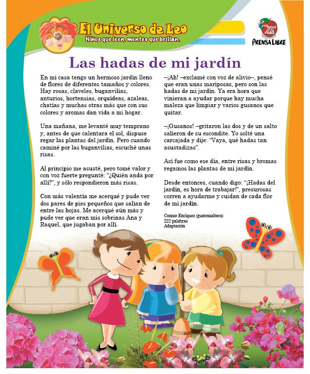 Cuentos Para Primaria Hago Mi Tarea Cuentos Para Niños Gratis Cuentos Cortos Para Imprimir Lectura Cortas Para Niños