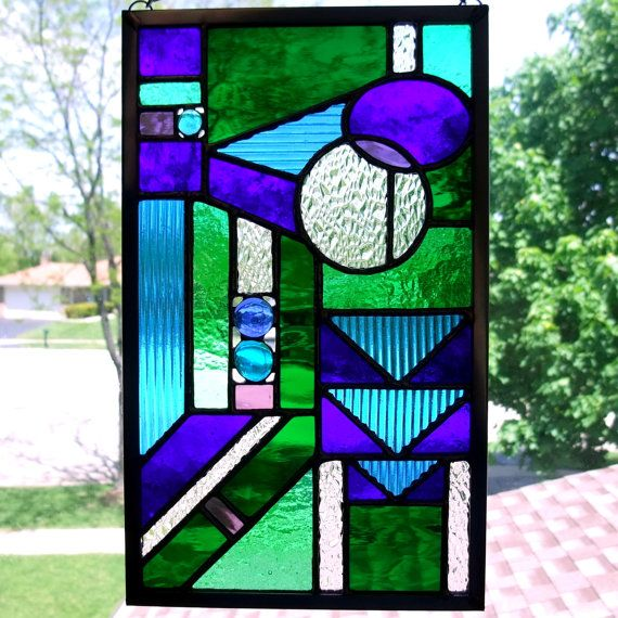 Geometric Shapes Stained Glass Patterns Stained Glass Stained