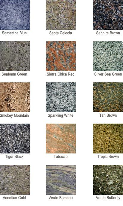 All AZ Countertops Offers A Wide Variety Of Color Selection For Your New  Granite Counter Tops In The Phoenix Area.