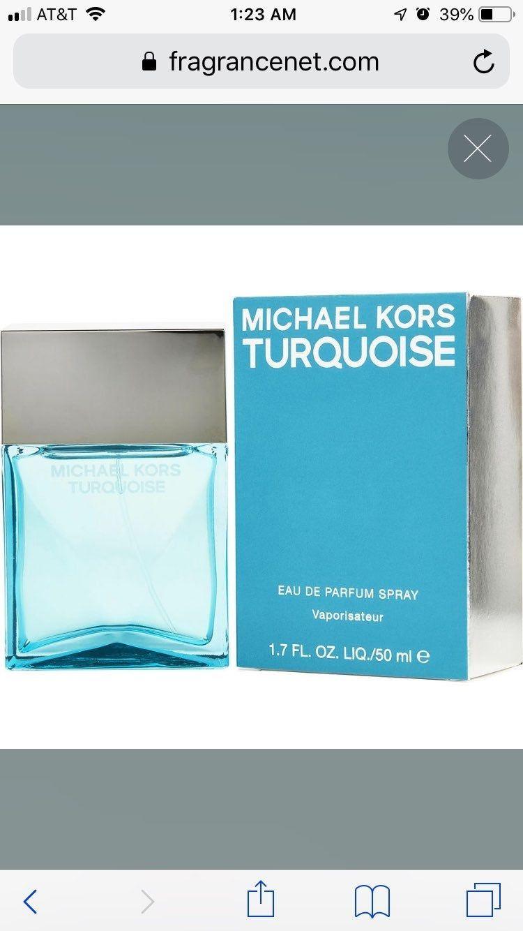 Michael Kors Turquoise Perfume 80 Perfume Michael Kors Kor