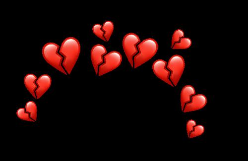Freetoedit Crown Hearts Emoji Broken Remixit Broken Heart Emoji Broken Heart Wallpaper Emoji Wallpaper Iphone