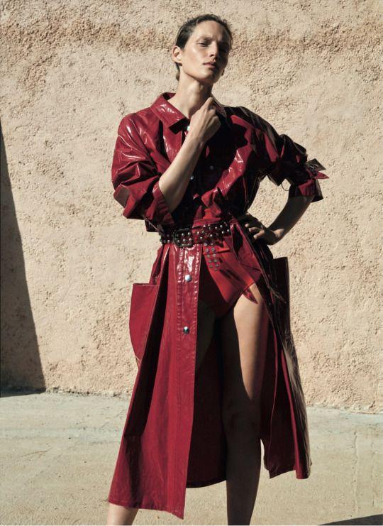 Vivien Solari in Pure Sunshine Thomas Lohr for Vogue Germany July 2016