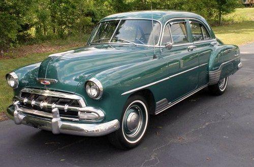 1952 Chevy Styleline Deluxe Sedan Performance Online Inc