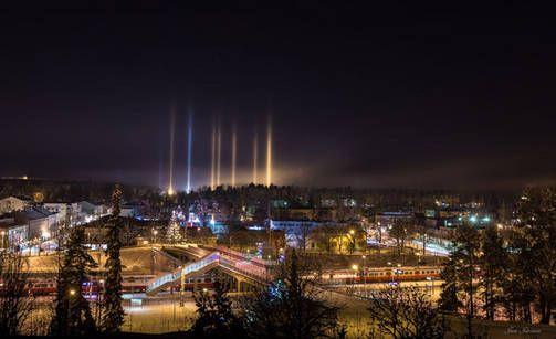 Halo phenomenons in Karjaa, Finland