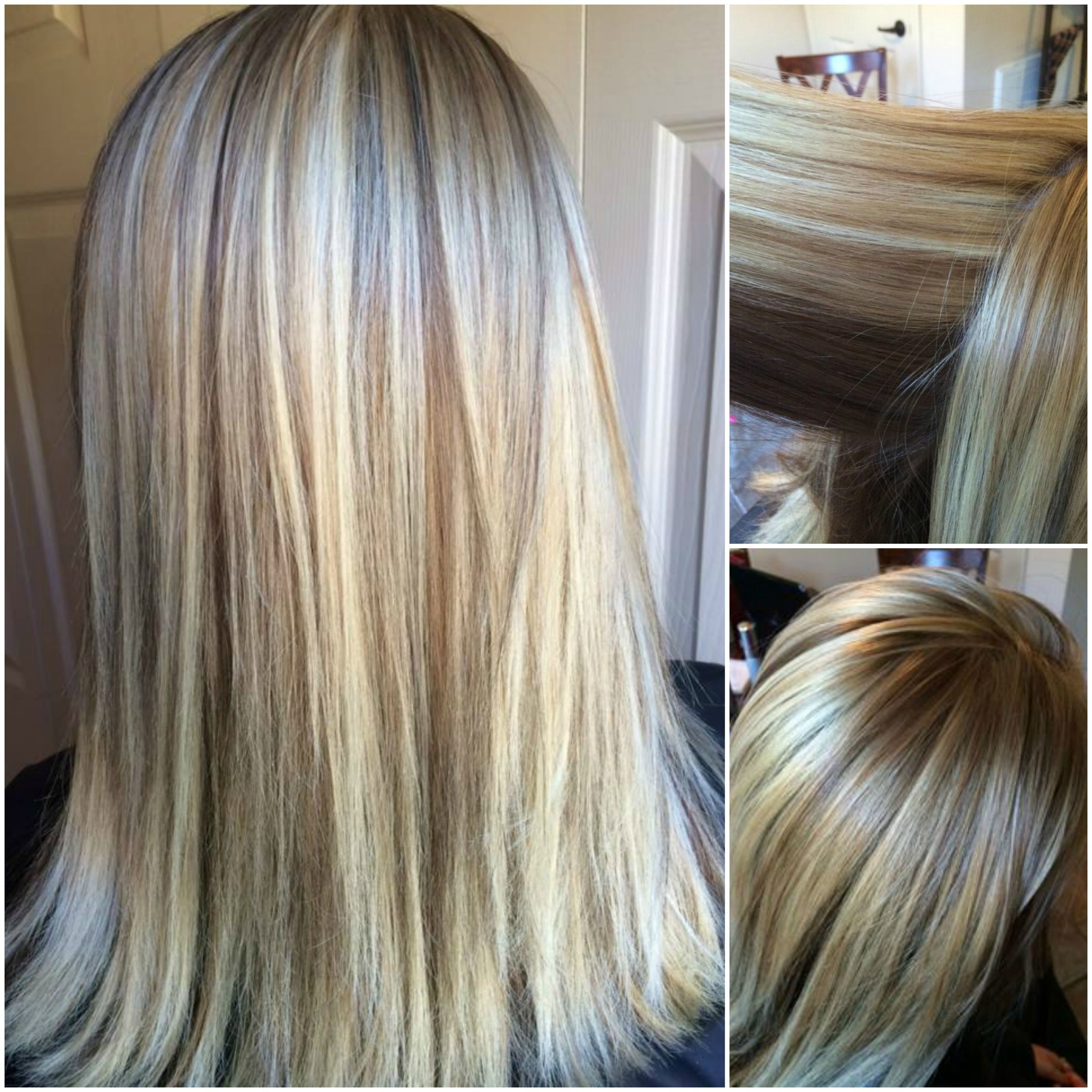 Blonde Highlights Kenra Toner With Brown Lowlights 5b
