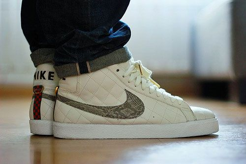new product 88309 ff8e7 Nike Supreme Blazer with snakeskin, jaypjp.tumblr.com ...