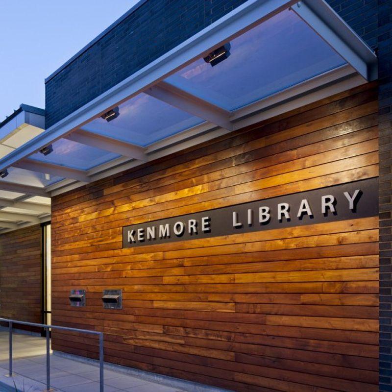 Kenmore library weinstein a restaurant signs metal