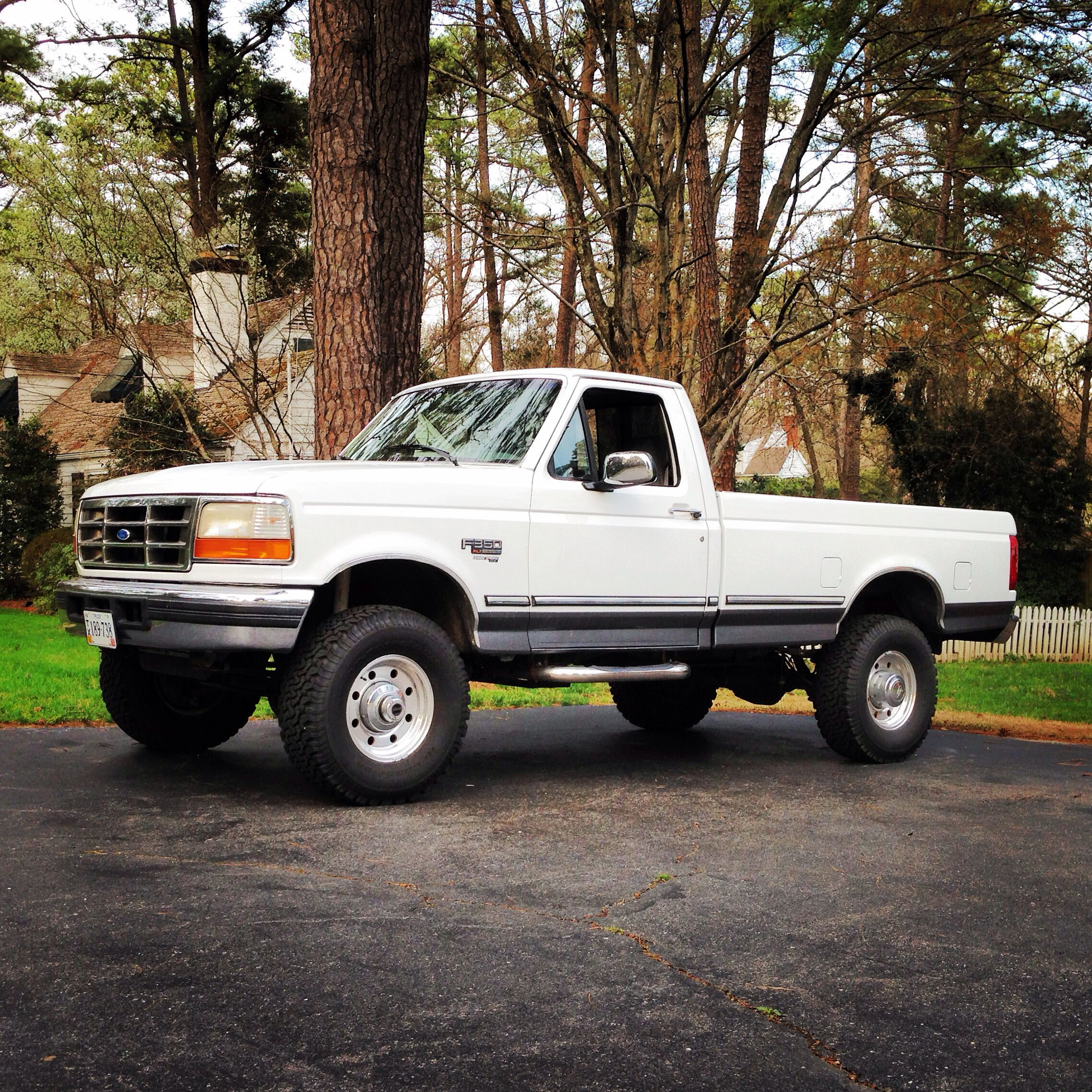 1997 Ford F350 Powerstroke diesel regular cab.