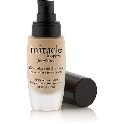 Philosophy Miracle Worker Foundation No Foundation Makeup Liquid Makeup Makeup