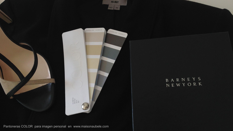 Aquí tonos super clásicos y elegantes que siempre serán buenas inversiones, negro, arena y grises oscuros. Lleva tu paleta de colores personal cuando vas de compras para asegurarte que lños tonos que estás comprando son los correctos.