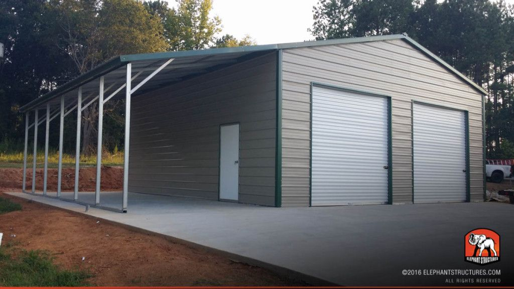 Best Metal Garages Is It A Right Choice Darbylanefurniture Com In 2020 Metal Buildings Metal Building Homes Steel Buildings