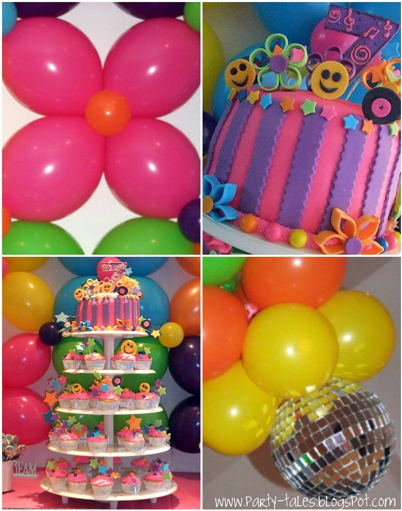 Party-Tales: ~ Birthday Party ~ 70\'s Disco Fun! The grooviest event ...