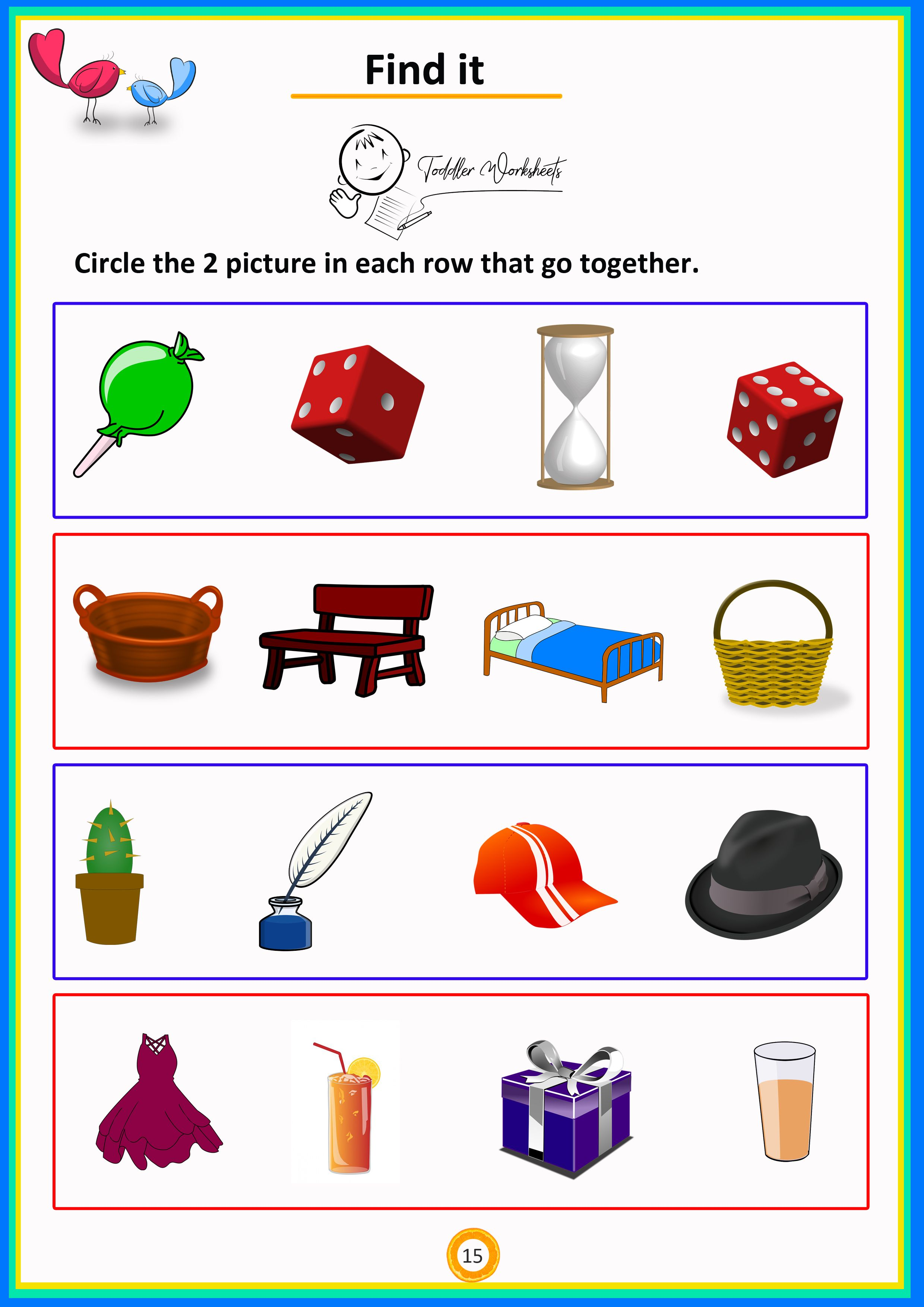 Simple math toddler preschool worksheets. Free Download ...