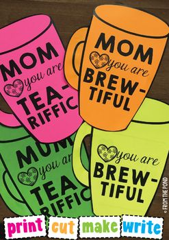 Mother S Day Mug Card For Mom Mum Coffee And Tea Mother S Day Mugs Diy Mother S Day Crafts Mothers Day Crafts